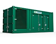 Газовый генератор PowerLink GXE 200 NG в контейнере